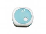 Reproductor MP3 de pulsera 2 GB blanco-azul