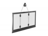 Soporte TV de cable de pared y techo con movimiento vertical hasta 56 pulgadas